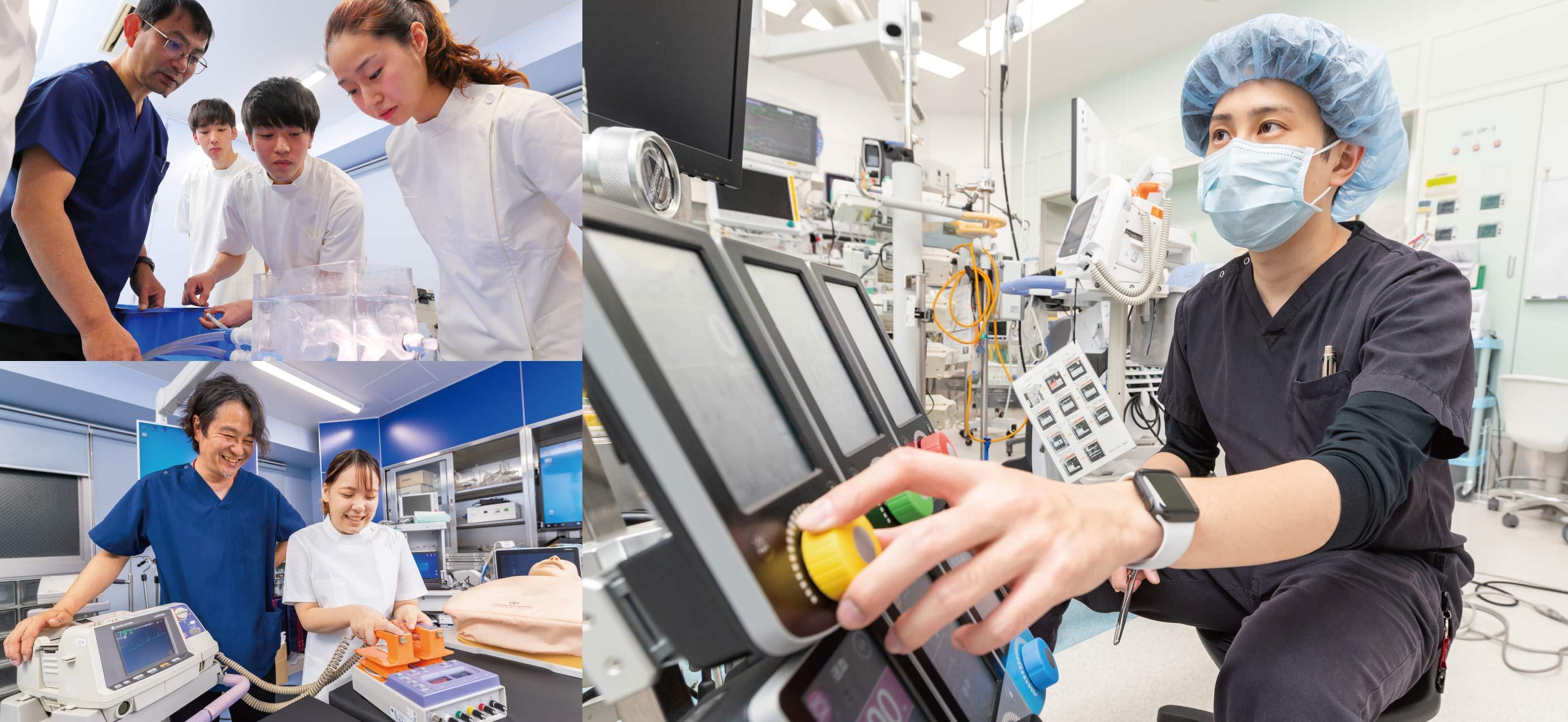 臨床工学技士科(昼間1年制)