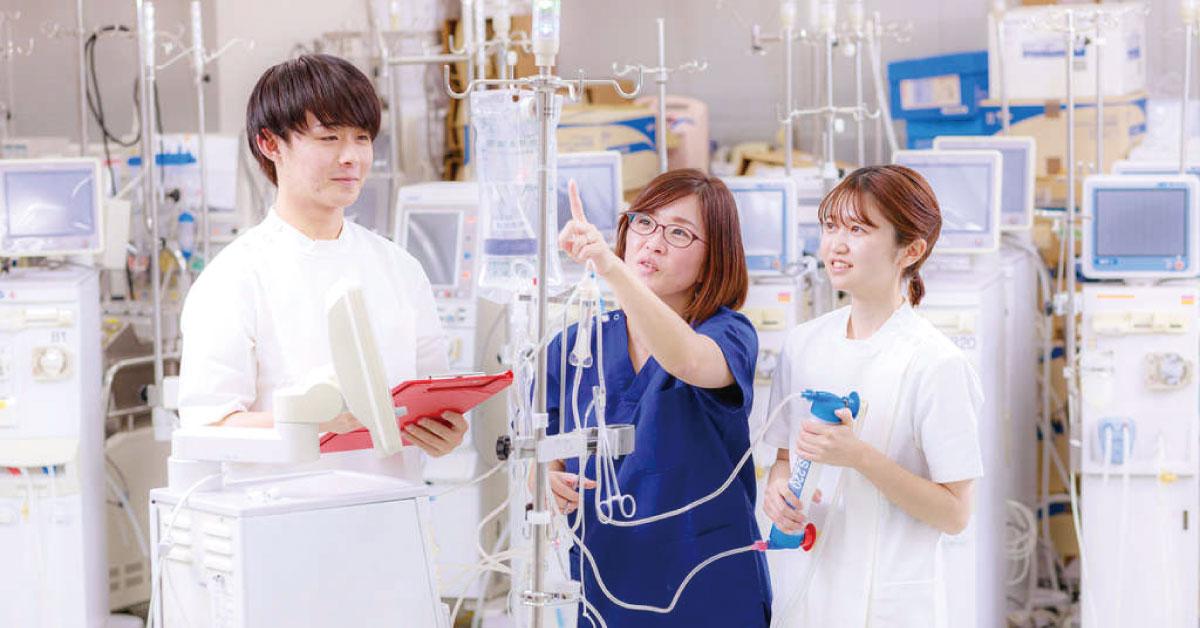 生体機能代行装置学実習イメージ1