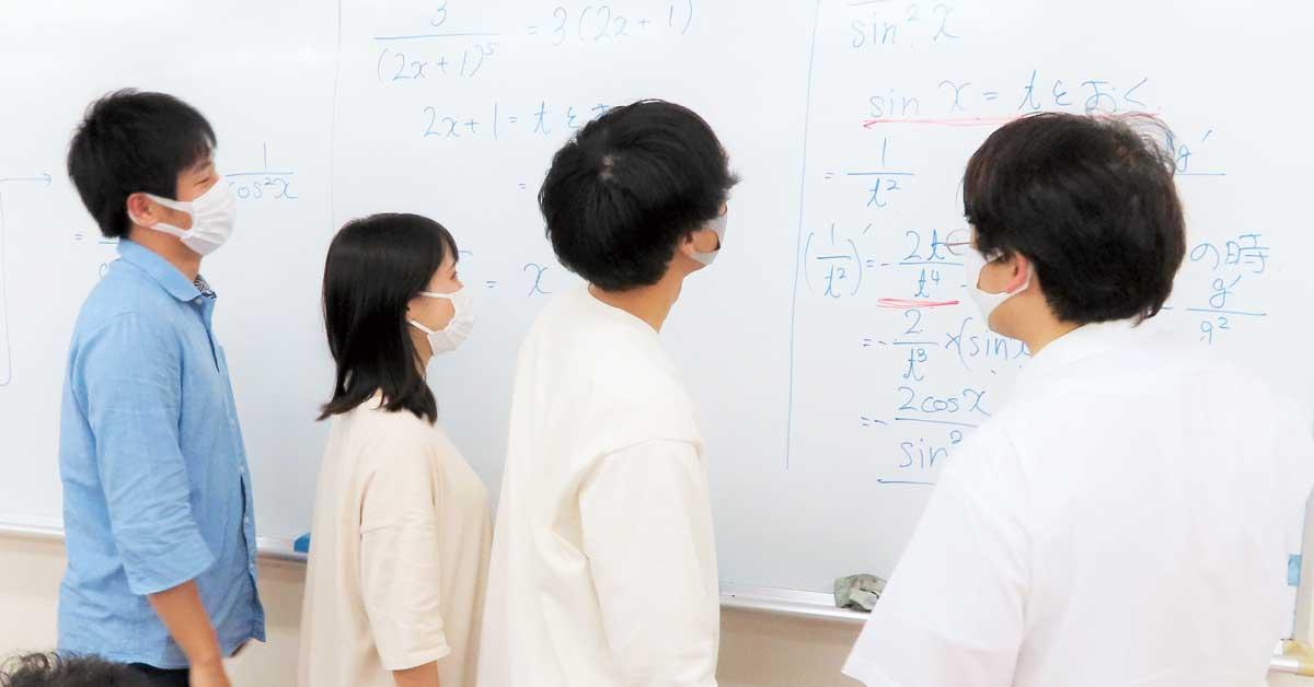 1年次に高校の理系科目の補習を実施!