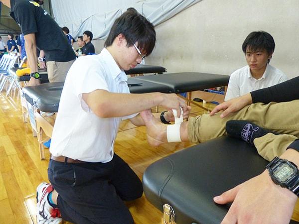 兵庫県立尼崎小田高等学校 看護医療・健康類型のみなさん