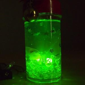 LEDアクアリウム工作(暗2)