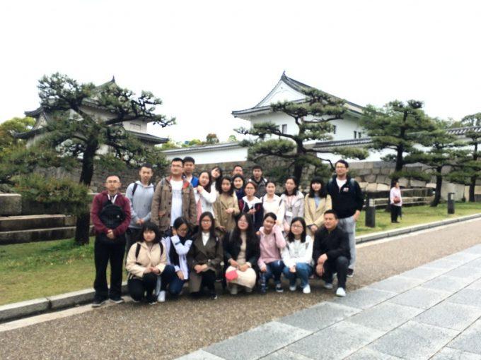 2日目 大阪城 集合写真